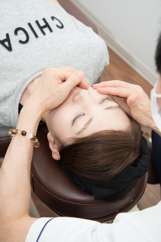 整顔・顎へのアプローチ