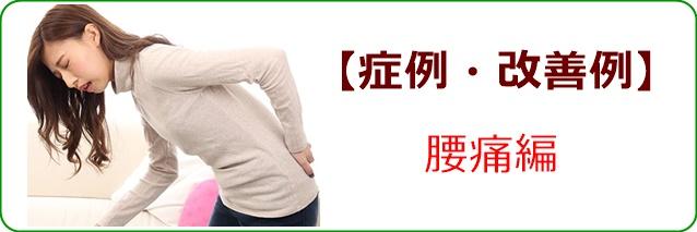 症例・改善例ー腰痛