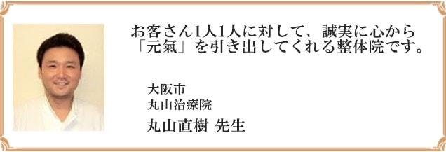 推薦文ー丸山直樹先生