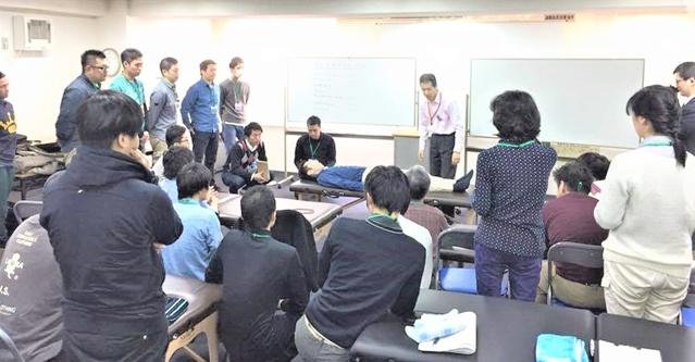整体、整骨院の先生方を技術指導