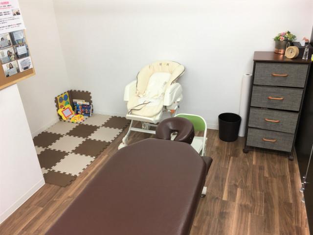 子供連れ施術スペース