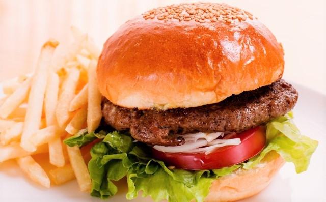 ハンバーガー&ポテト
